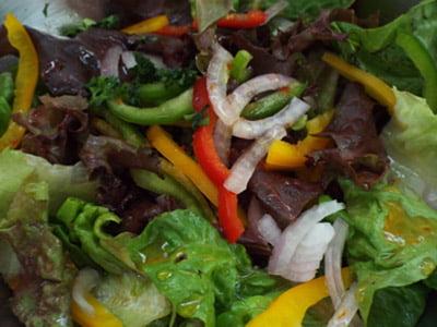 receita003 - Salada de Folhas Mistas